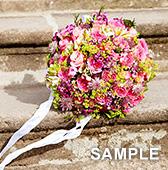 Sample Weddingのホームページがオープンしました。